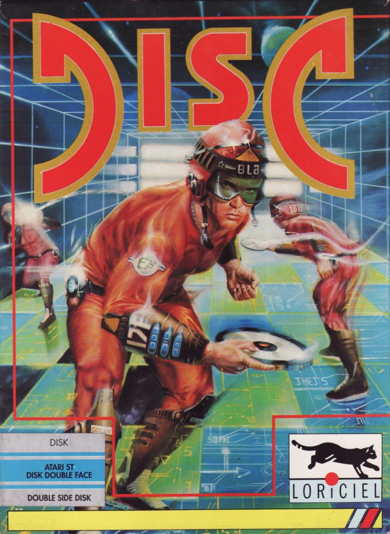 Disc Atari ST Front Cover