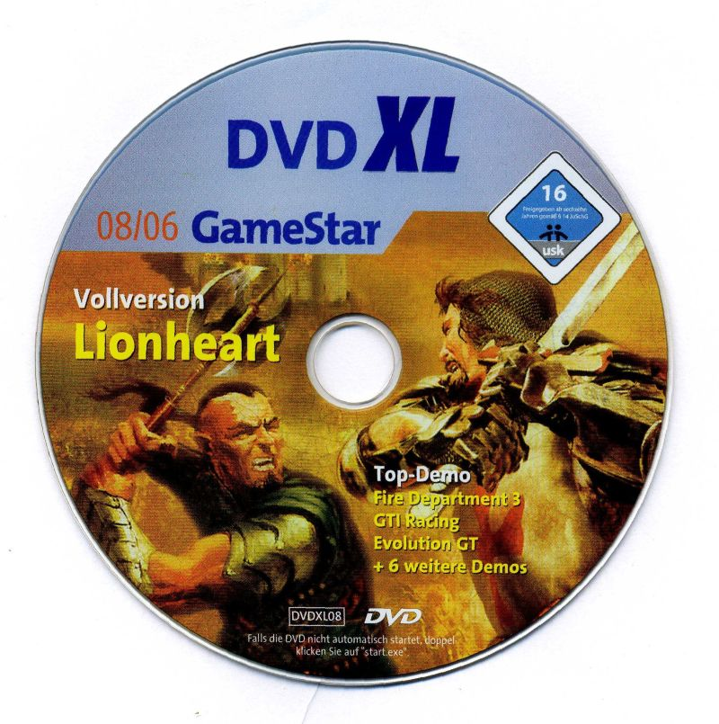 Lionheart: Legacy of the Crusader Windows Media
