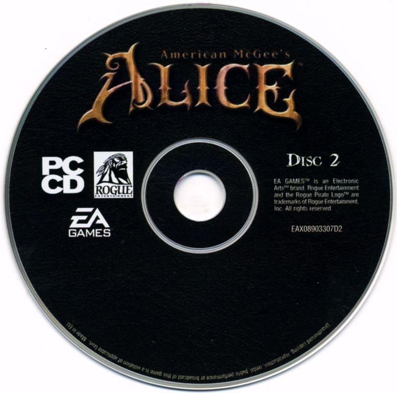American McGee's Alice Windows Media Disc 2