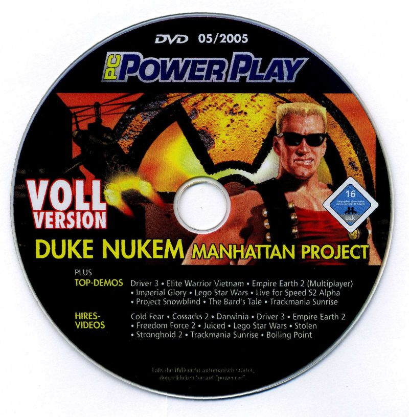 Duke Nukem: Manhattan Project Windows Media