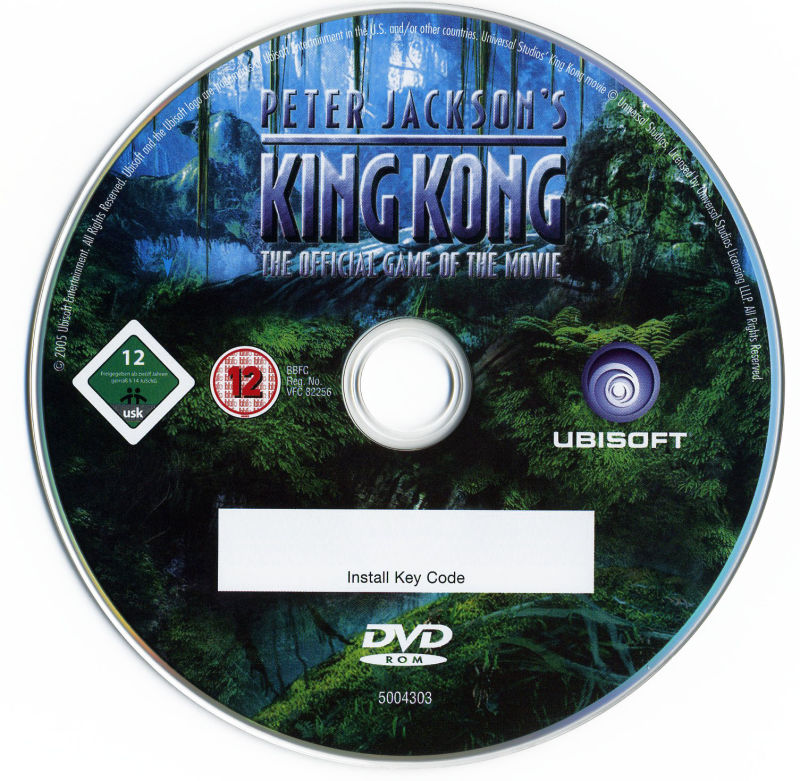 Peter Jackson's King Kong: The Official Game of the Movie (Signature Edition) Windows Media Game DVD