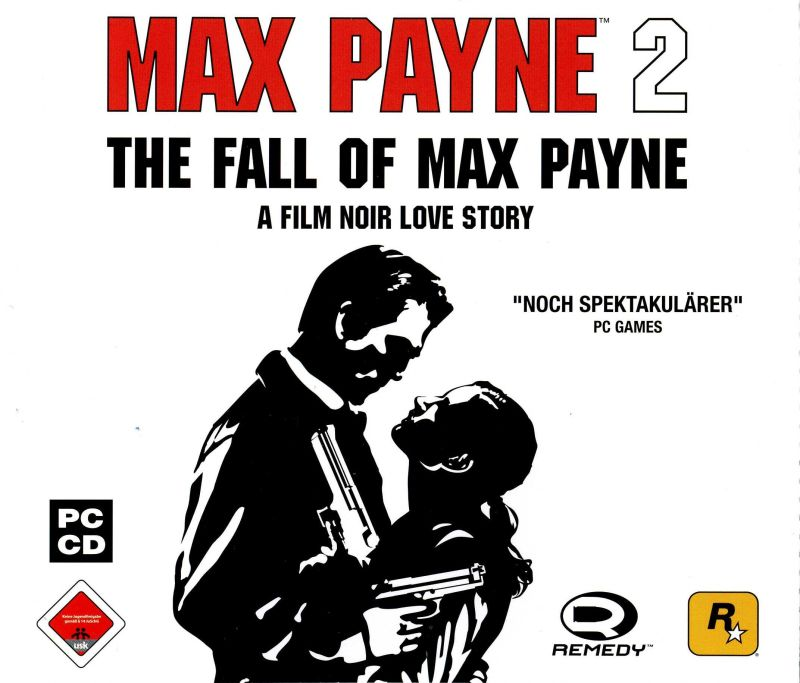 Max Payne 2: The Fall of Max Payne Windows Other Jewel Case - Front