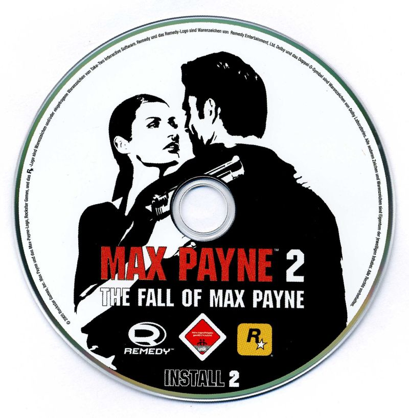 Max Payne 2: The Fall of Max Payne Windows Media Install disc 2/2