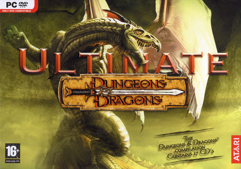 Ultimate Dungeons & Dragons Windows Front Cover