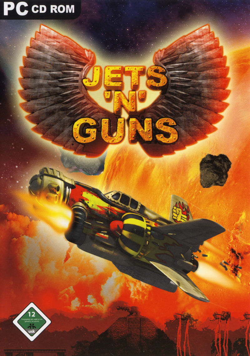 Jets 'n' Guns Gold Windows Front Cover