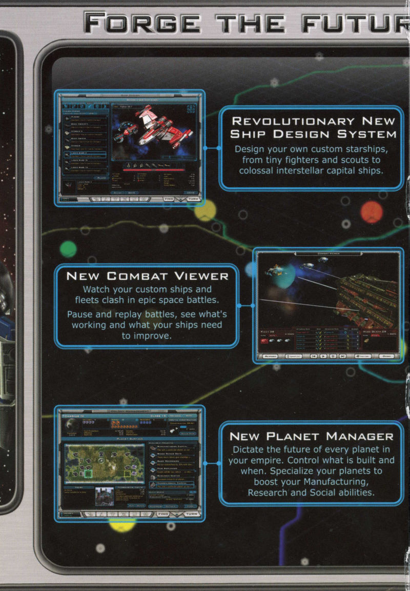 Galactic Civilizations II: Dread Lords Windows Inside Cover Left