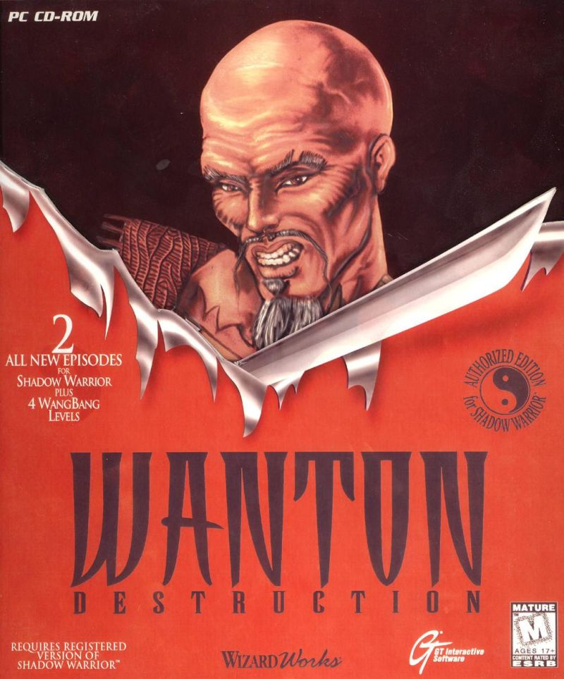 Wanton Destruction DOS Front Cover
