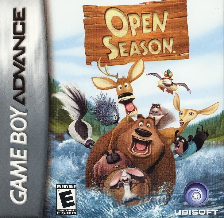 Open Season Game Boy Advance Front Cover