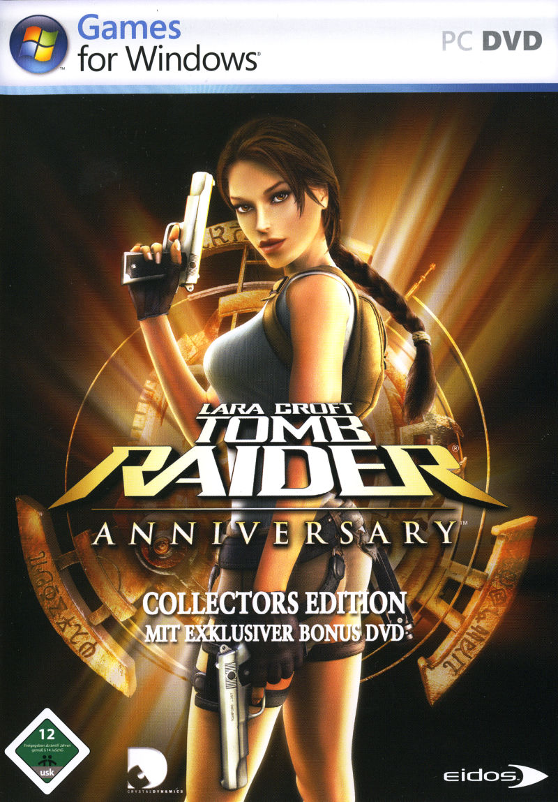 Lara Croft: Tomb Raider - Anniversary (Collectors Edition) Windows Front Cover