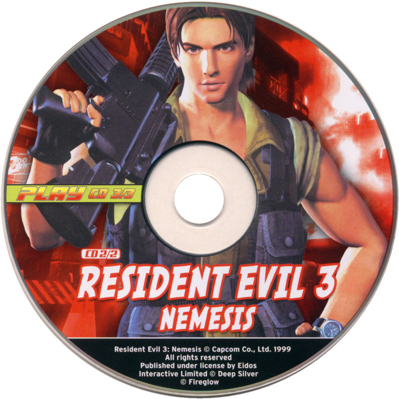Resident Evil 3: Nemesis Windows Media Disc 2/2