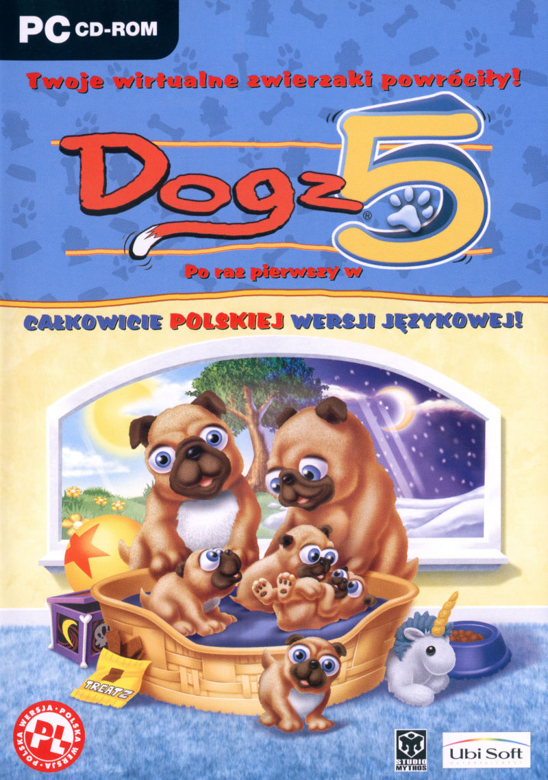 Dogz 5 Windows Front Cover