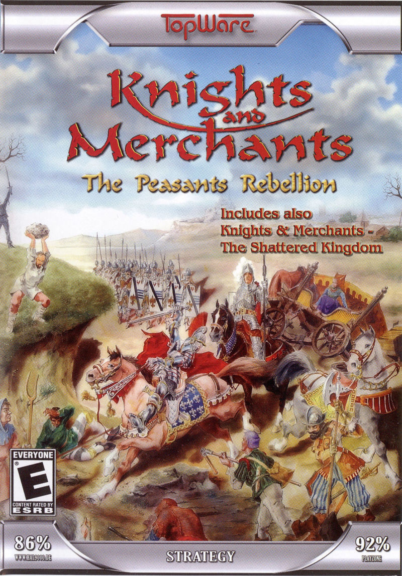 Knights and Merchants: The Peasants Rebellion Windows Front Cover