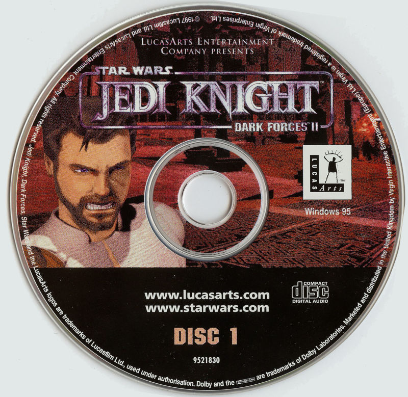 Star Wars: Jedi Knight - Dark Forces II Windows Media Disc 1