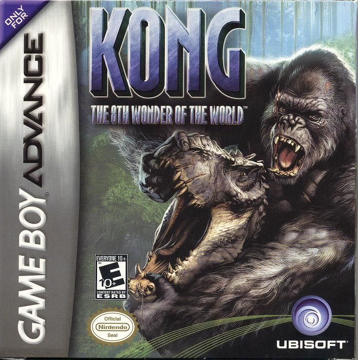 Kong: The 8th Wonder of the World Game Boy Advance Front Cover