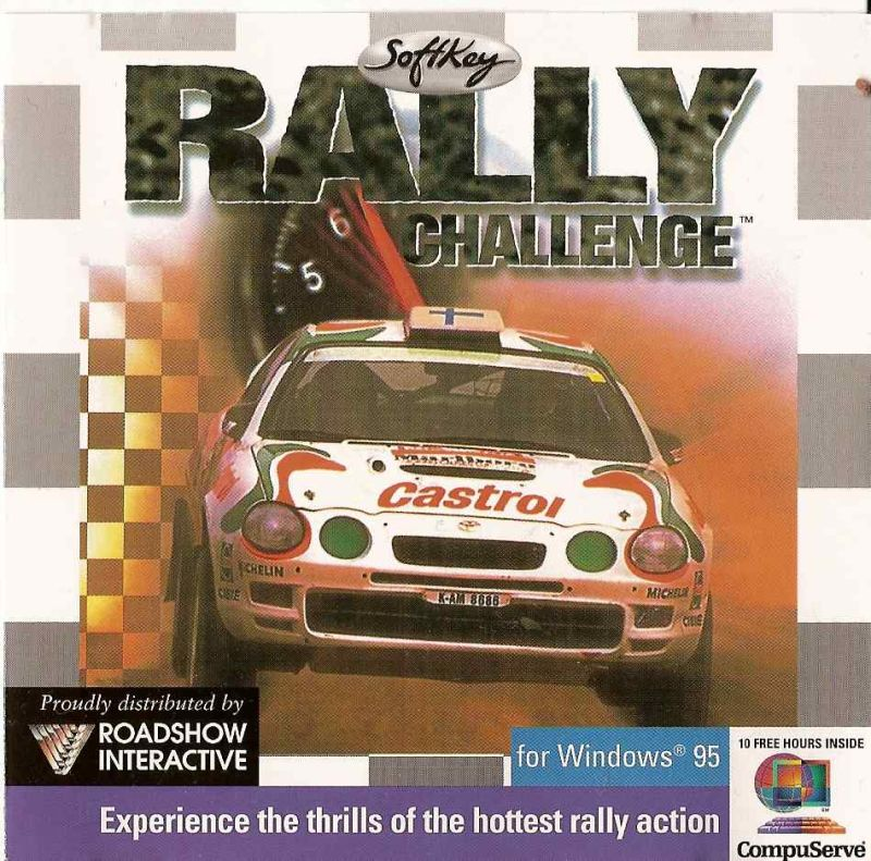 Rally Challenge Windows Front Cover
