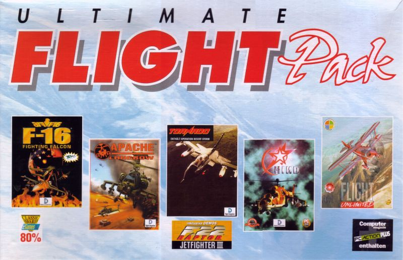 Ultimate Flight Pack DOS Front Cover