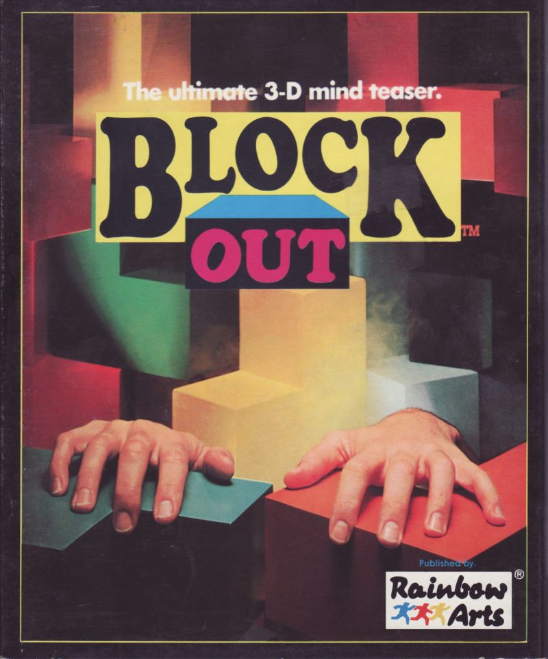 Blockout Atari ST Front Cover