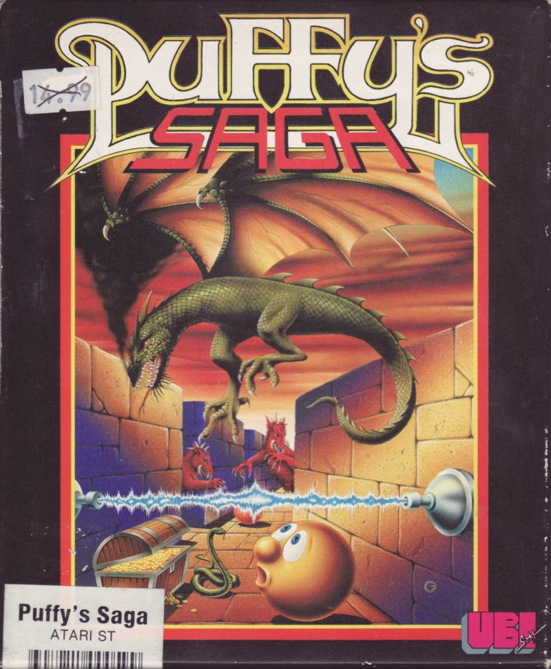 Puffy's Saga Atari ST Front Cover