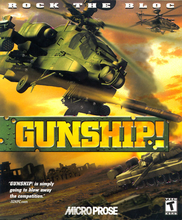 Gunship! Windows Front Cover