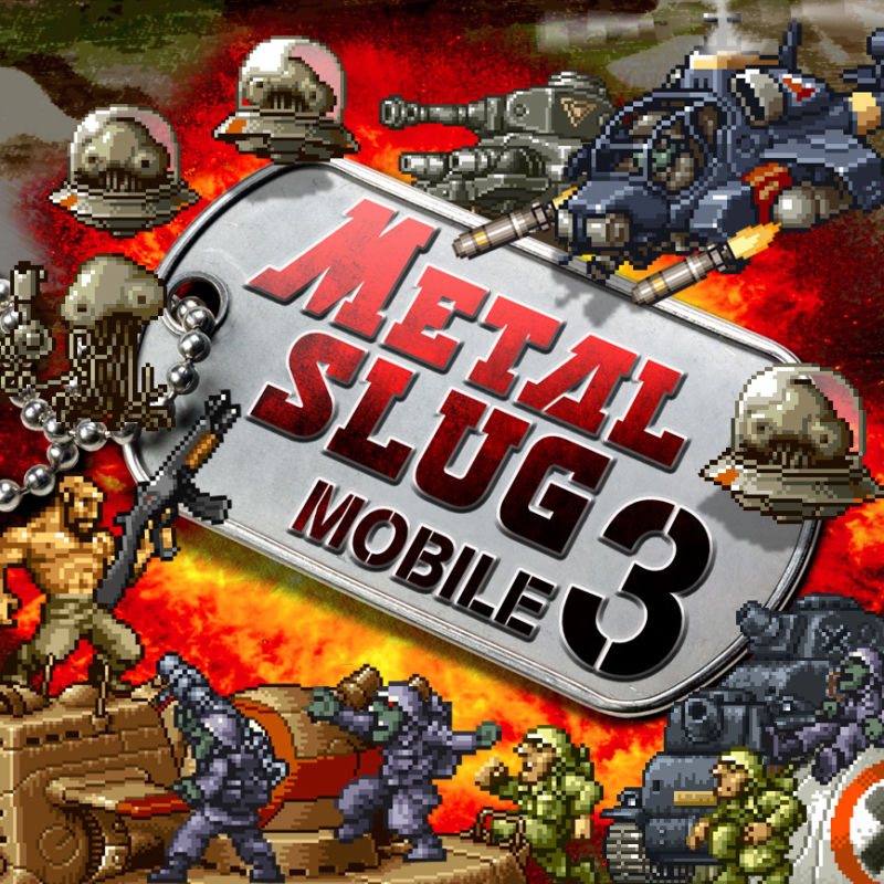 Metal Slug Mobile 3 J2ME Front Cover