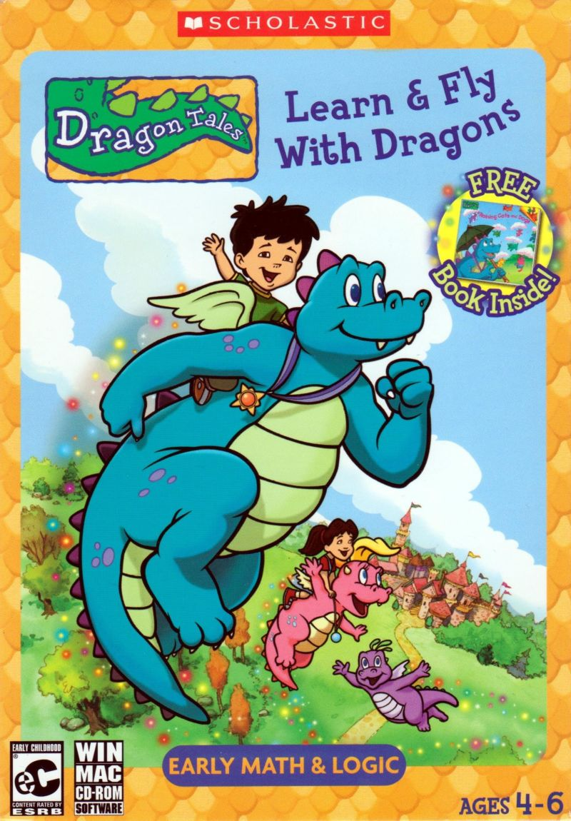 Dragon tales learn fly with dragons 2004 macintosh for Painting games com