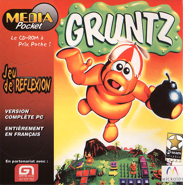 Gruntz Windows Front Cover