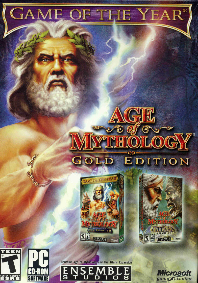 Age of Mythology: Gold Edition Windows Front Cover