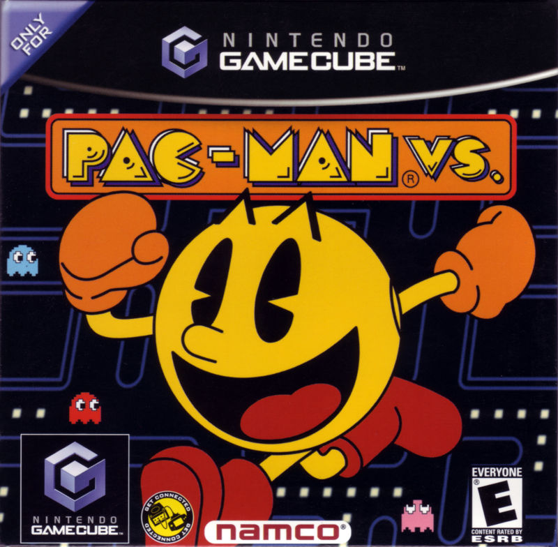 Pac-Man Vs. GameCube Front Cover