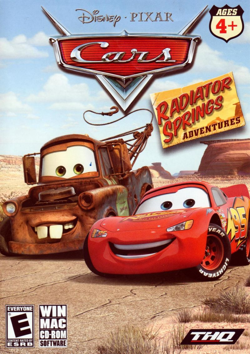 Disney Pixar Cars Radiator Springs Adventures For Macintosh 2006 Mobygames
