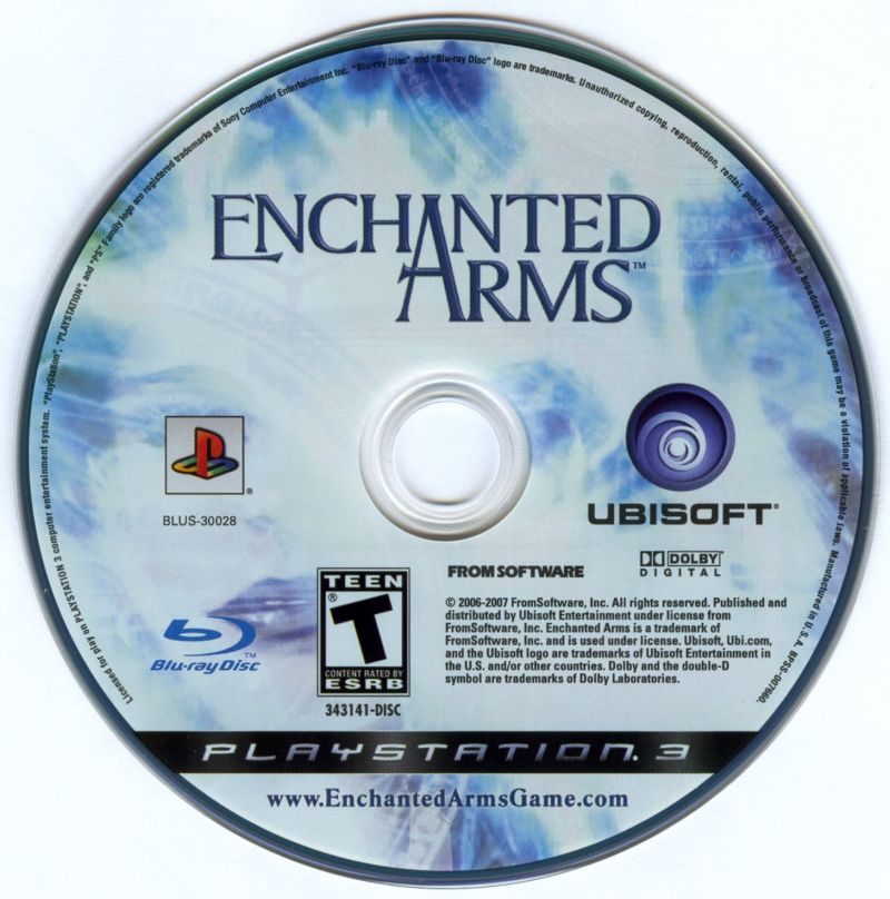 Enchanted Arms PlayStation 3 Media
