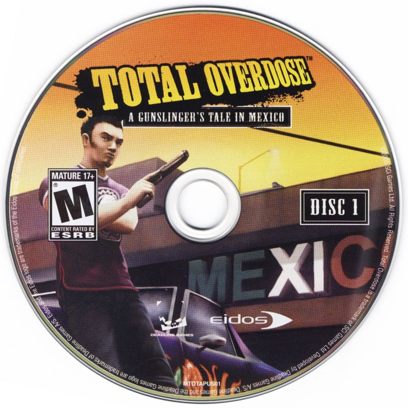 Total Overdose: A Gunslinger's Tale in Mexico Windows Media Disc 1