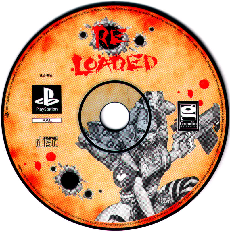 Re-Loaded PlayStation Media