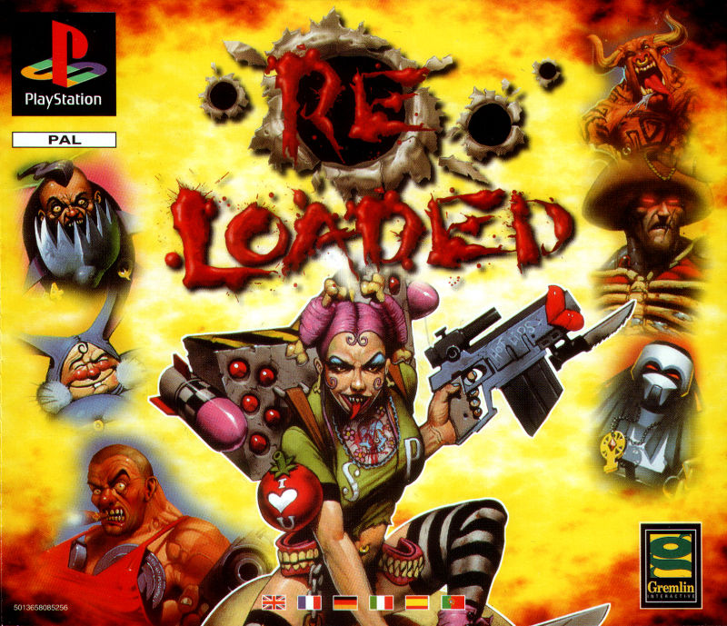Re-Loaded PlayStation Front Cover