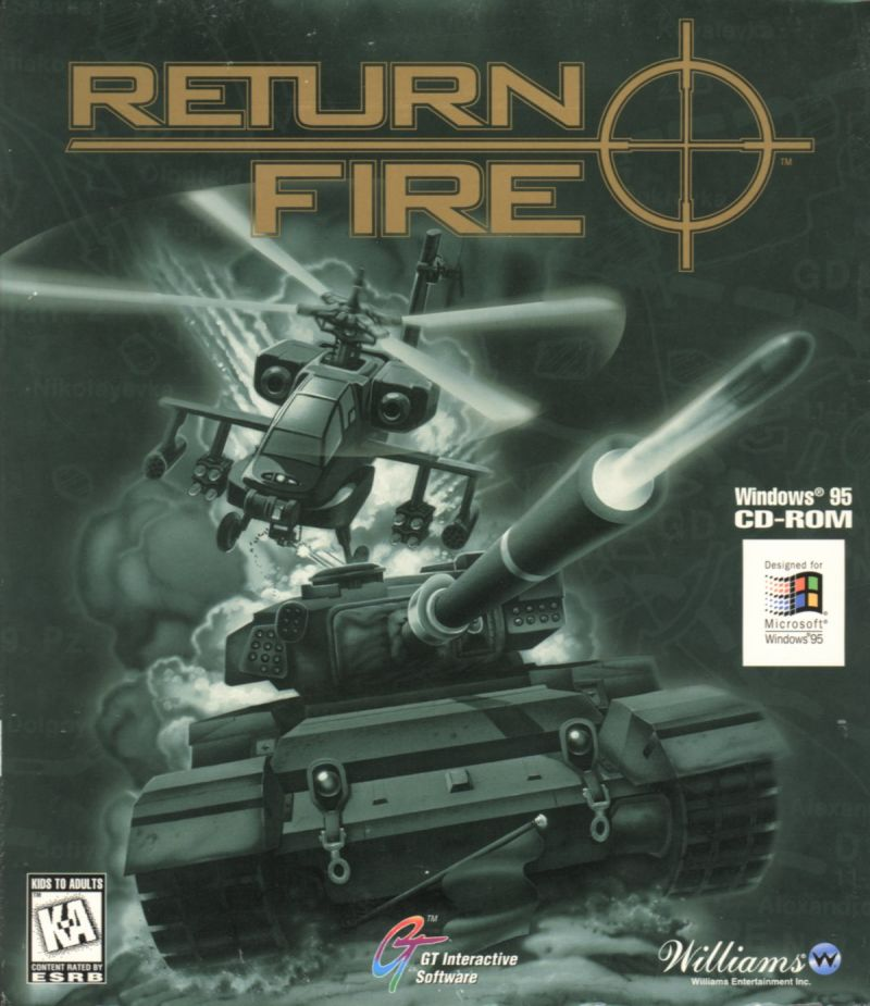 Return Fire Windows Front Cover