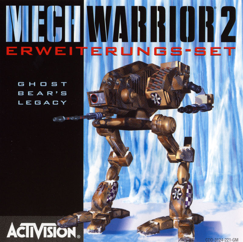 MechWarrior 2: Limited Edition DOS Other Ghost Bear's Legacy - Jewel Case - Front