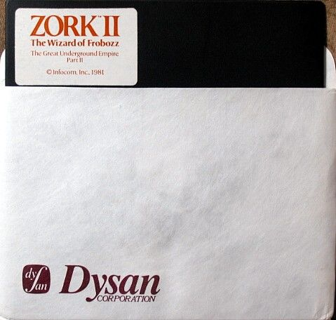 Zork II: The Wizard of Frobozz Apple II Media
