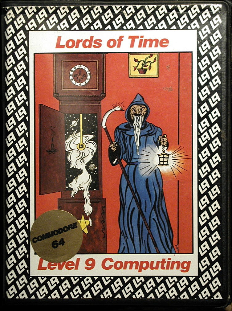 Lords of Time Commodore 64 Front Cover