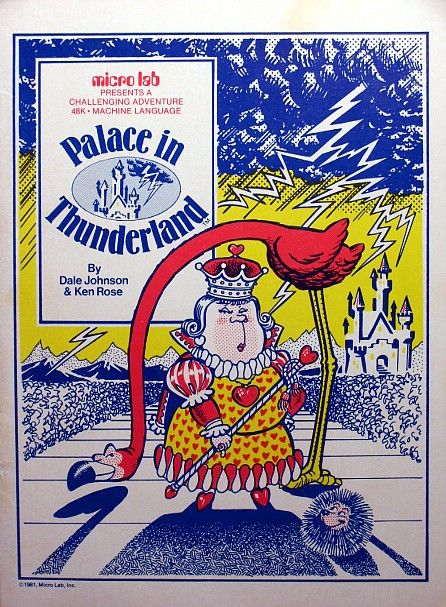 Palace in Thunderland Apple II Front Cover