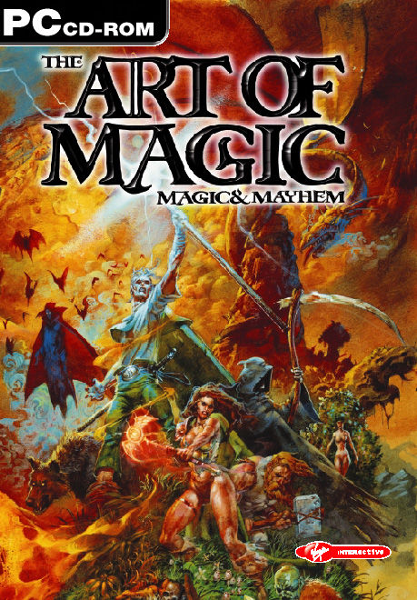 Magic & Mayhem: The Art of Magic Windows Front Cover