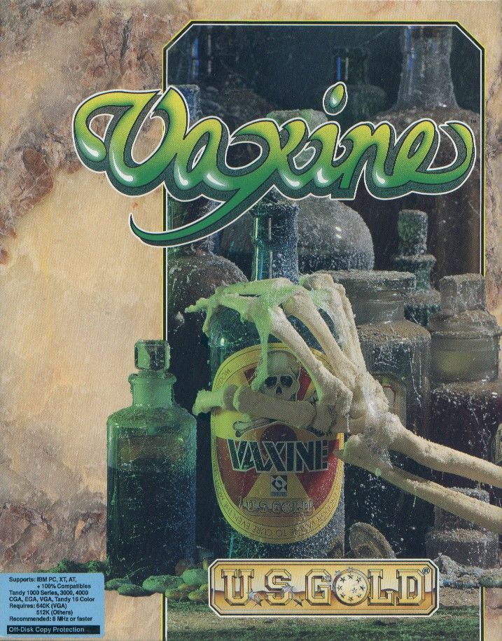 Vaxine DOS Front Cover