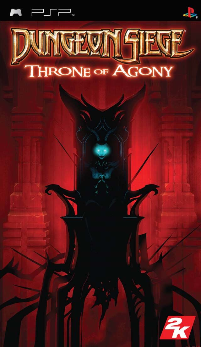 Dungeon Siege: Throne of Agony PSP Front Cover