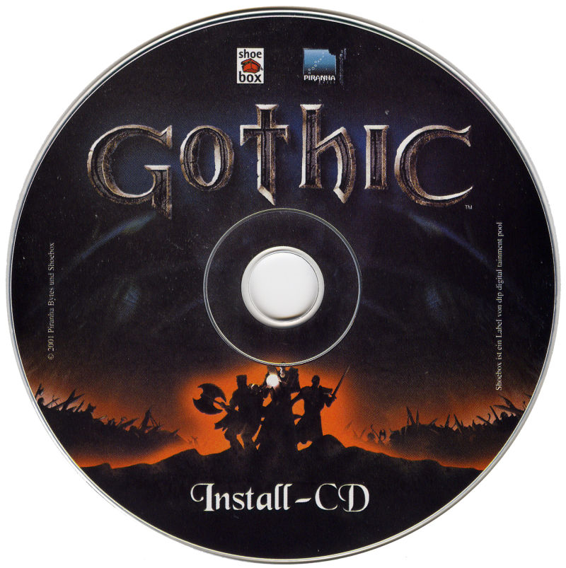 Gothic Windows Media Disc 1/2