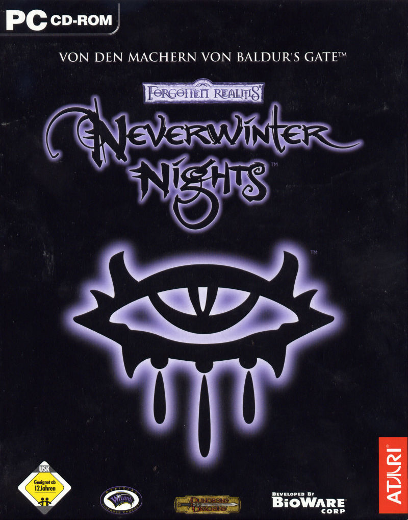 Neverwinter Nights Windows Front Cover