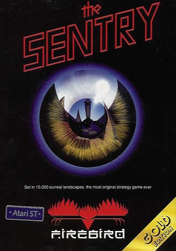 The Sentry Atari ST Front Cover
