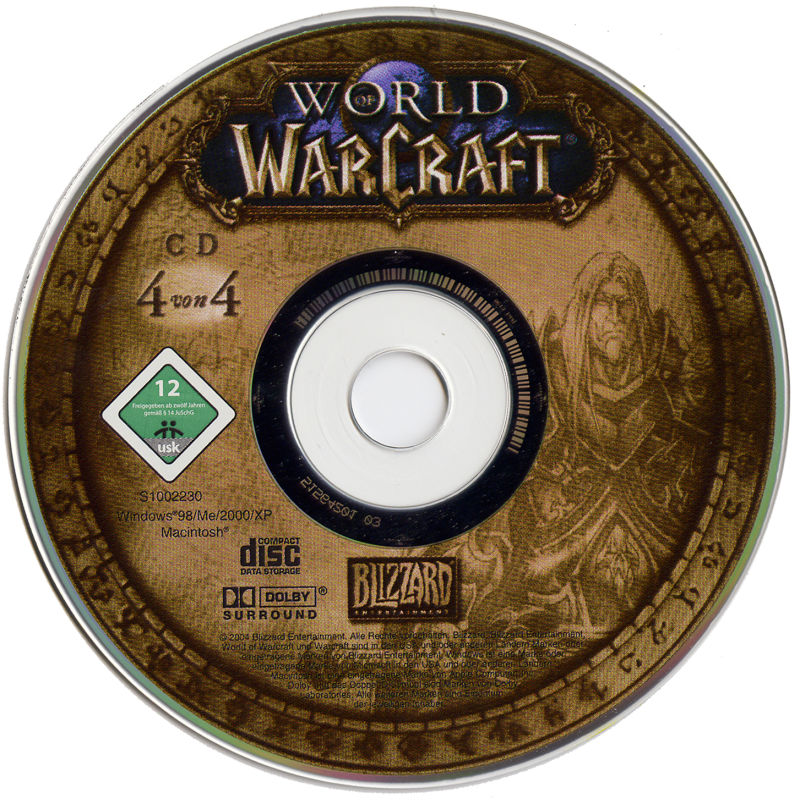 World of Warcraft Macintosh Media Disc 4