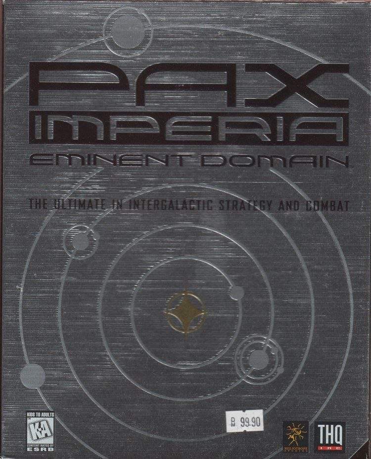 Pax Imperia: Eminent Domain Windows Front Cover