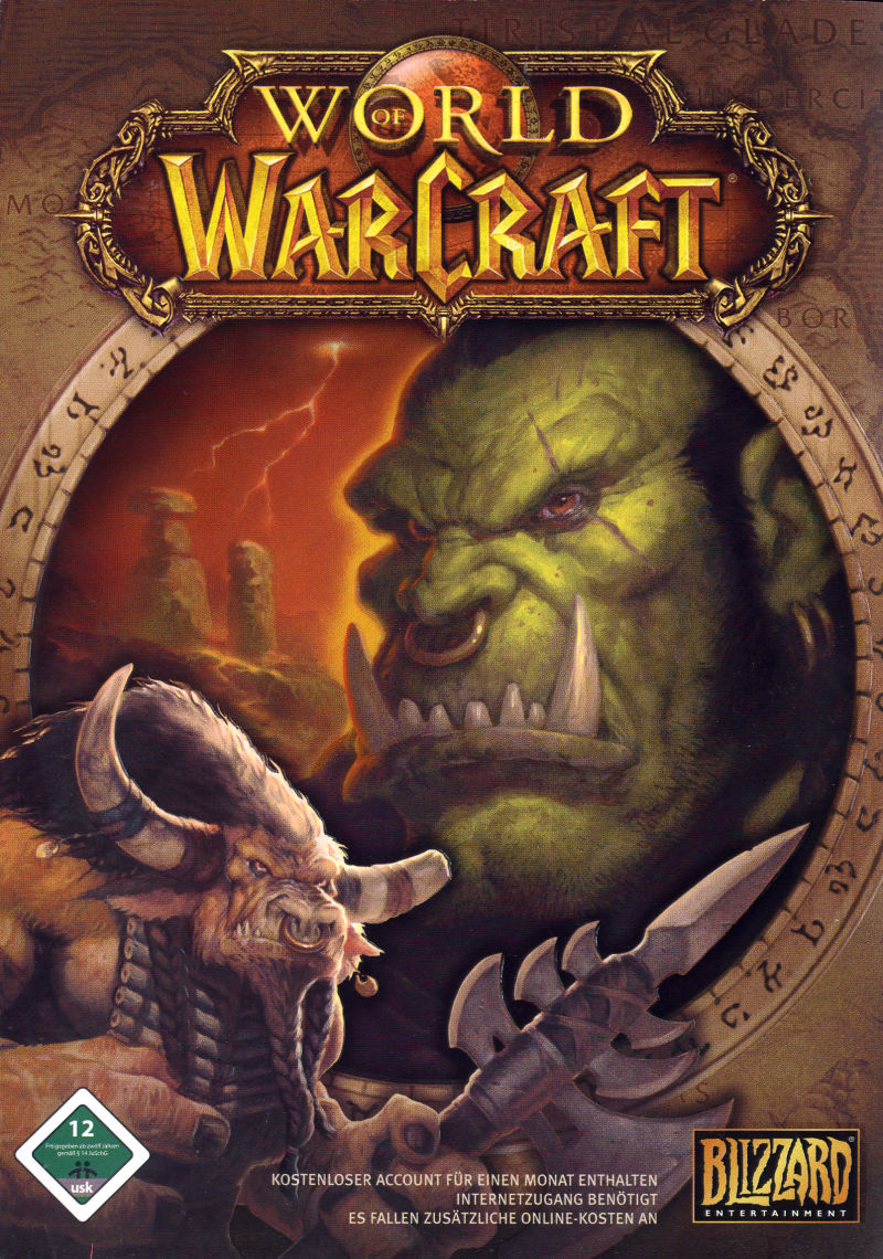 World of Warcraft Macintosh Front Cover