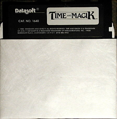 Time and Magik: The Trilogy Commodore 64 Media
