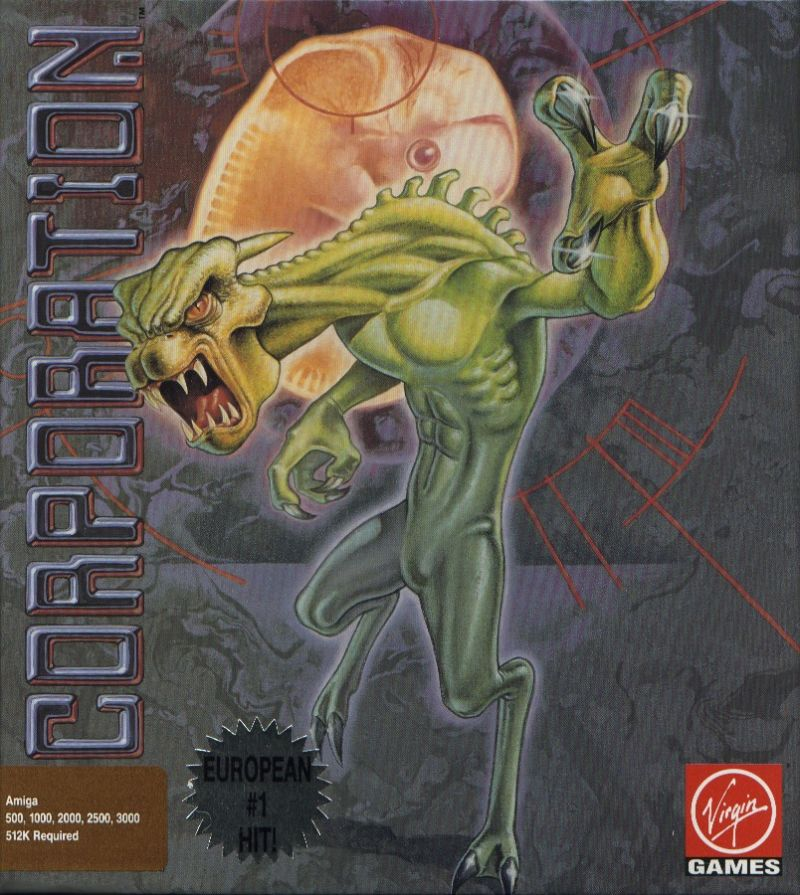 Corporation Amiga Front Cover