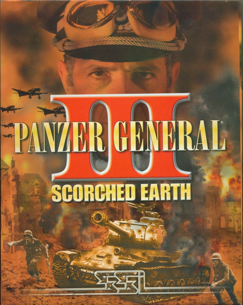 Panzer General III: Scorched Earth Windows Front Cover